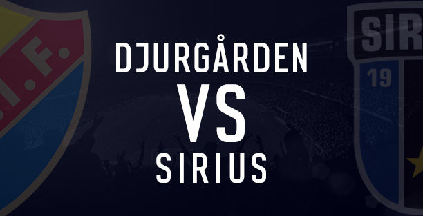 Djurgarden vs Sirius
